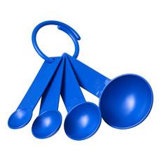 Set misurini in plastica con 4 misure  - colore Blu