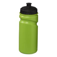 Borraccia 500 ml parete singola - colore Lime/Nero