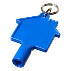 Chiave universale con portachiavi - colore Blu