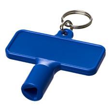 Portachiavi con chiave multiuso  - colore Blu