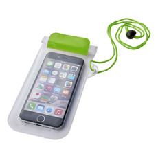 Custodia impermeabile per smartphone - colore Lime