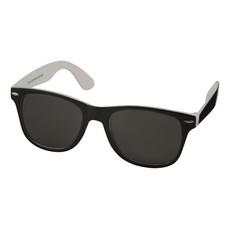 Occhiali da sole bicolore - colore Bianco/Nero