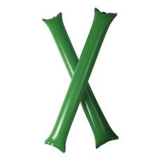 Coppia di bastoncini gonfiabili per tifo - colore Verde