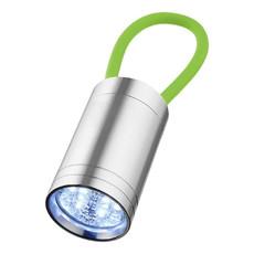 Torcia a 6 LED con cinturino fluorescente - colore Lime