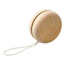 Yo-yo in legno per bambini - colore Naturale