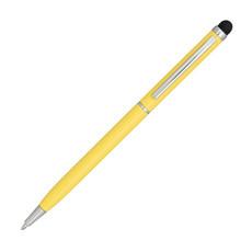 Penna a sfera con meccanismo a torsione - colore Giallo