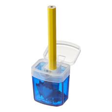 Temperamatite con contenitore - colore Blu
