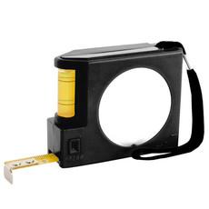 Flessometro con livella