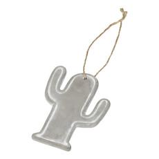 Ornamento a forma di cactus - colore Grigio