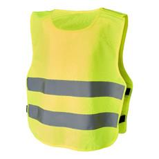 Gilet di sicurezza per bambini dai 7-12 anni - colore Giallo Fluo
