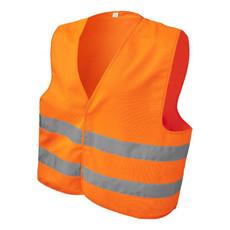 Gilet di sicurezza vari colori - colore Arancione Fluo