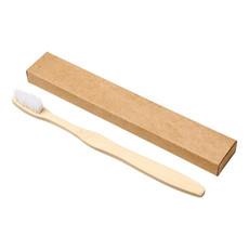 Spazzolino in bamboo - colore Bianco