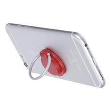 Supporto per cellulare e anello - colore Rosso