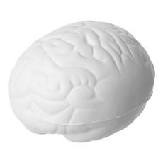 Antistress a forma di cervello - colore Bianco