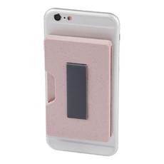Porta carte con più scomparti - colore Rosa