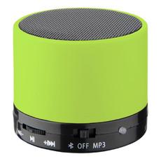Speaker cilindrico con finitura in gomma - colore Lime
