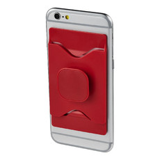 Supporto per cellulare Pulse - colore Rosso