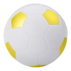 Antistress Football - colore Bianco/Giallo