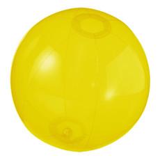 Pallone da spiaggia trasparente Ryo - colore Giallo Trasparente