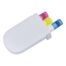 Set di evidenziatori gel - colore Bianco