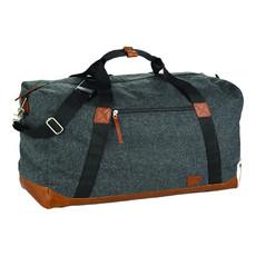 Borsone Campster in lana e poliestere - colore Carboncino