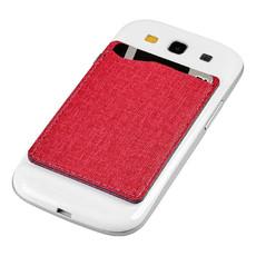 Portacarte da cellulare RFID - colore Rosso
