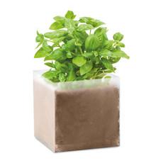 Sacchetto con semi di basilico colore beige MO9545-13
