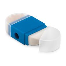 Set gomma e temperino colore blu MO9556-04