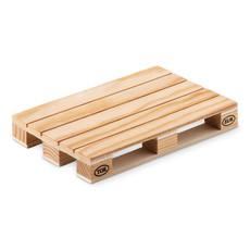 Sottobicchiere in legno a forma Europallet colore legno MO9504-40