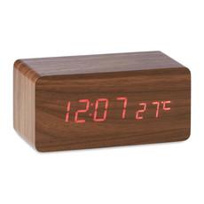 Sveglia con carica wireless colore legno MO9456-40