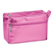 Portacosmetici in PVC colore rosa MO9573-11