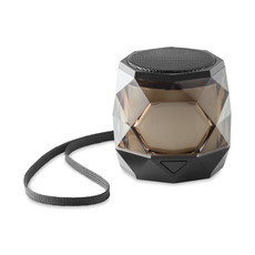 Speaker Bluetooth con luci led colore nero MO9672-03