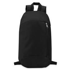 Zaino con tasca frontale colore nero MO9577-03