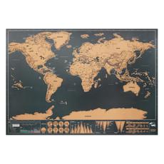 Cartina geografica del mondo colore beige MO9736-13
