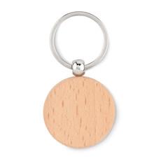Portachiavi rotondo in legno colore legno MO9773-40