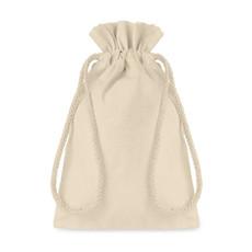 Sacca Piccola in cotone naturale colore beige MO9728-13