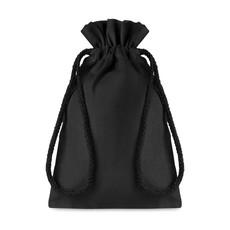 Sacca Piccola in cotone nero colore nero MO9729-03