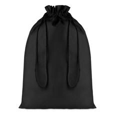 Sacca grande in cotone nero colore nero MO9733-03