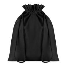 Sacca media in cotone nero colore nero MO9731-03
