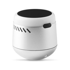Speaker Bluetooth con logo luminoso colore argento opaco MO9741-16