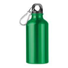 Bottiglia in alluminio 400ml colore verde MO9805-09