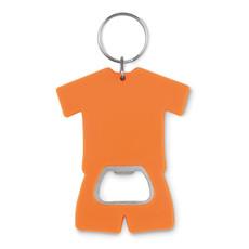 Apribottiglia a forma di t-shirt colore arancio