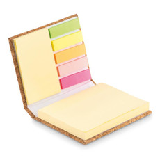 Memopad in sughero colore beige MO9855-13