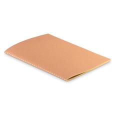 Notebook A5 con fogli in carta riciclata colore beige MO9867-13