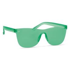 Occhiali da sole lenti all over colore verde trasparente MO9801-24