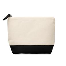 Portacosmetici bicolore colore nero MO9815-03