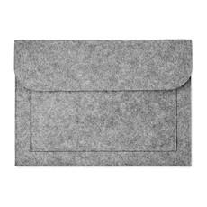 Portadocumenti porta tablet in feltro colore grigio MO9818-07