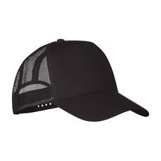 Cappellino camionista 5 pannelli colore nero MO9911-03