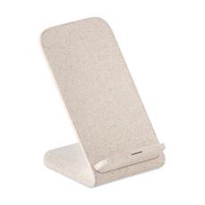 Caricatore wireless in paglia colore beige MO9891-13
