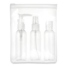 Porta cosmetici da viaggio colore trasparente MO9886-22